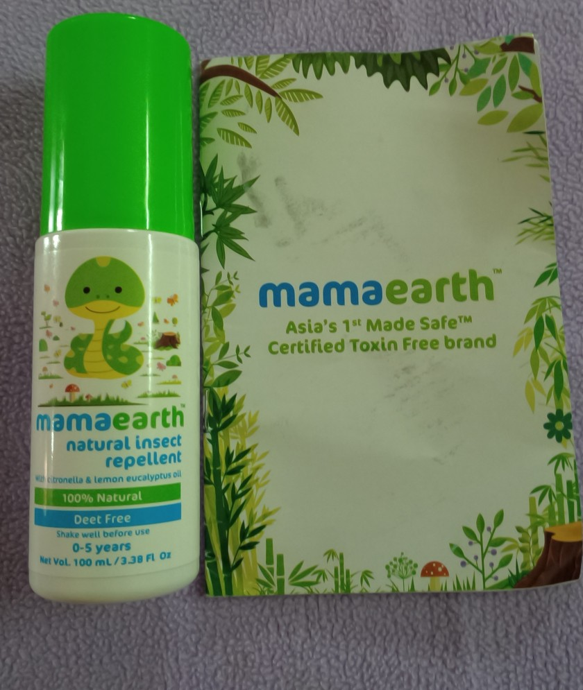 mama earth mosquito repellent