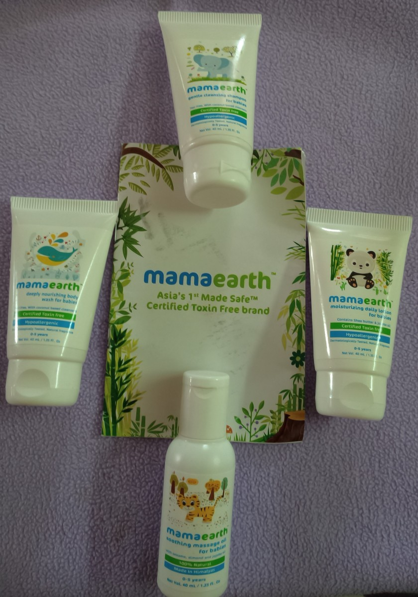 mama earth products